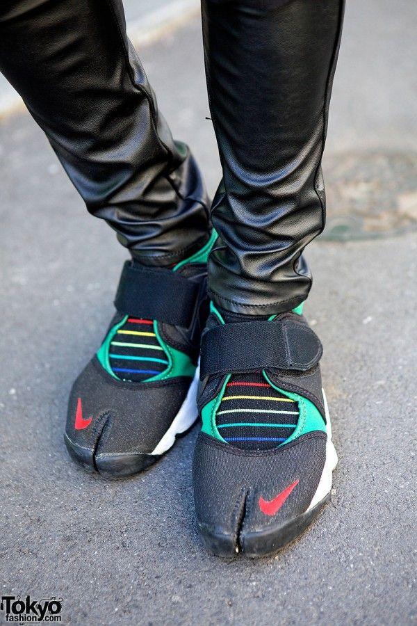 Nike Split Toe Tabi Shoes Mens Fashion Tabi