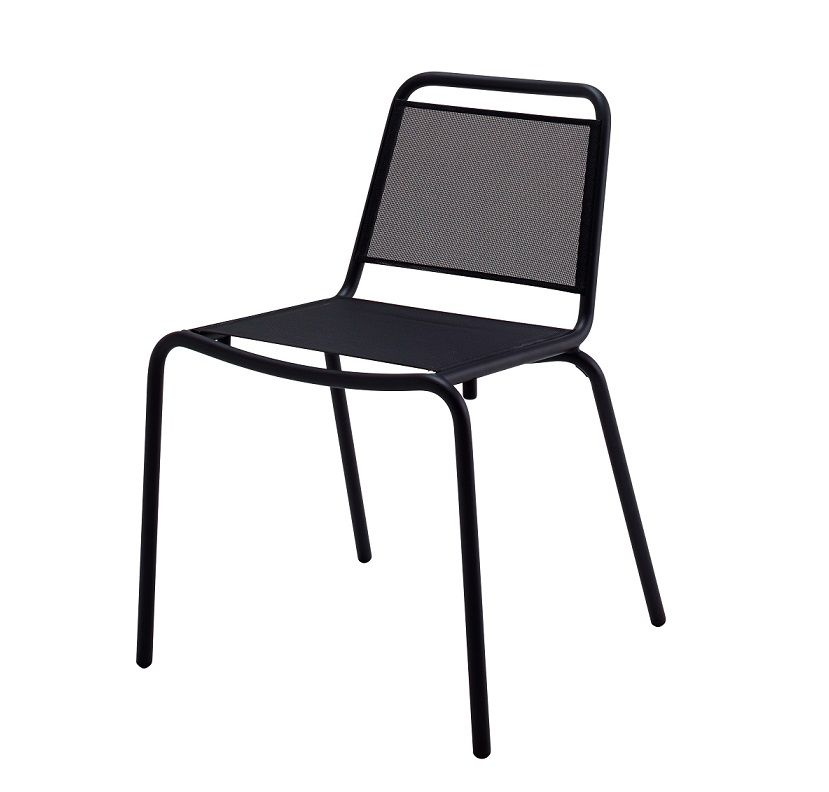 Nomad Sling Stacking Chair Cosh Living Luxury Outdoor Furniture Teak Outdoor Furniture Teak Furniture