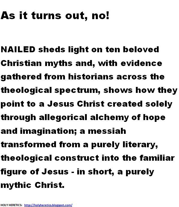 Nailed - Ten Christian Myths That Show Jesus Never Existed at All - resume for camp counselor