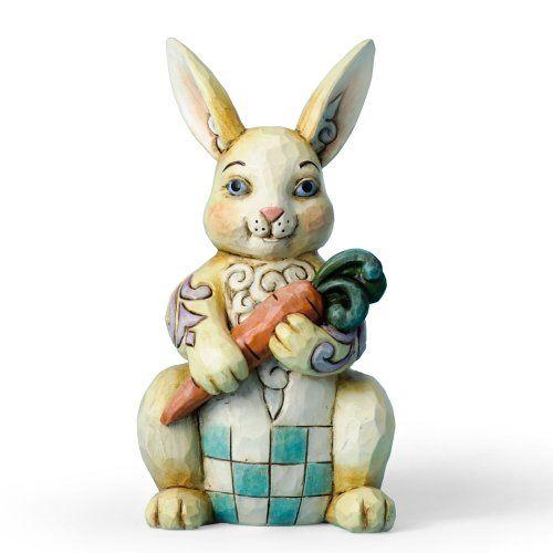 Enesco Jim Shore Heartwood Creek Pint Sized Bunny with Carrot Figurine, 5.25-Inch Enesco http://www.amazon.com/dp/B009AB12UW/ref=cm_sw_r_pi_dp_fsH-ub02GJY7G