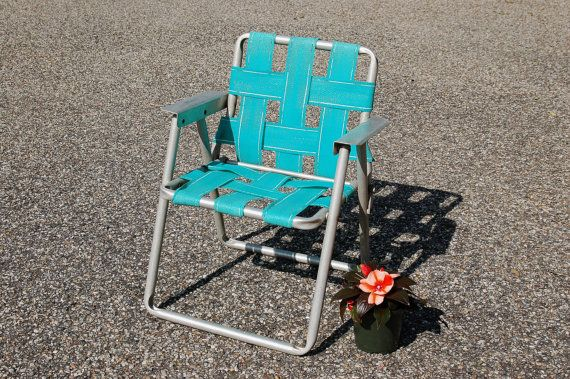 Vintage Child S Aluminum Folding Chair Vintage Folding Lawn Chair