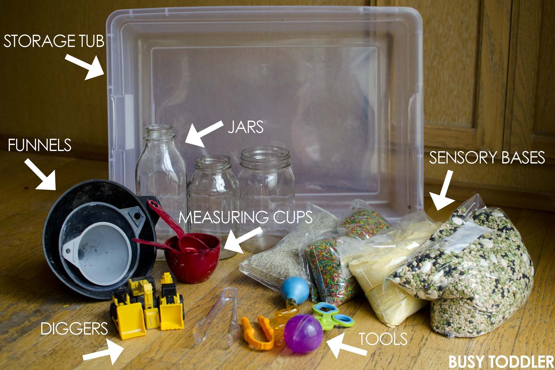 Sensory Bin Basics What You Need to Have