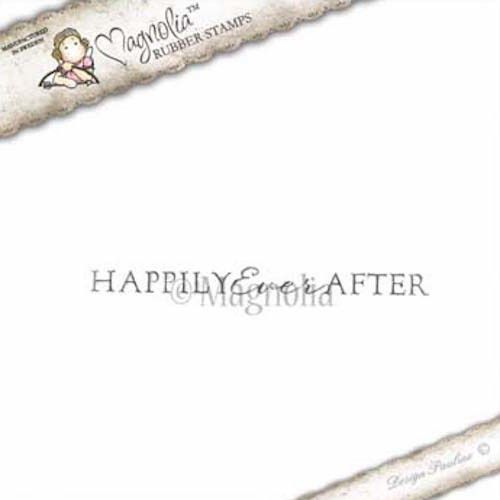 Magnolia Stamps Happily Ever After Text