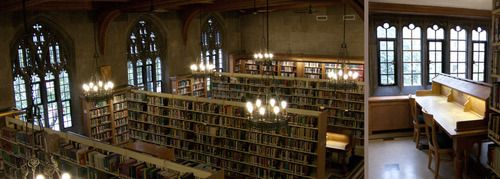 Gothic library
