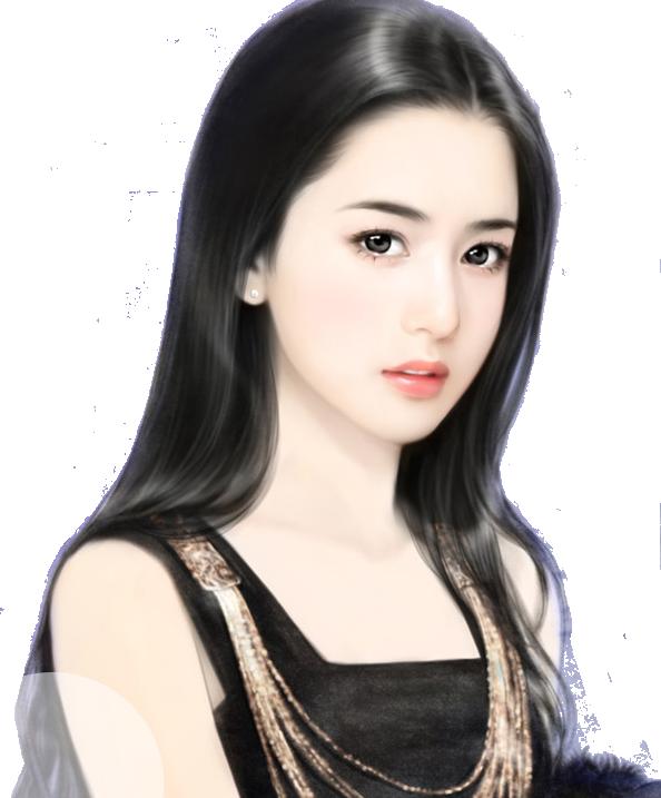 【资源】立绘_看图_橙光游戏吧_百度贴吧 Lukisan wajah, Anime gadis cantik