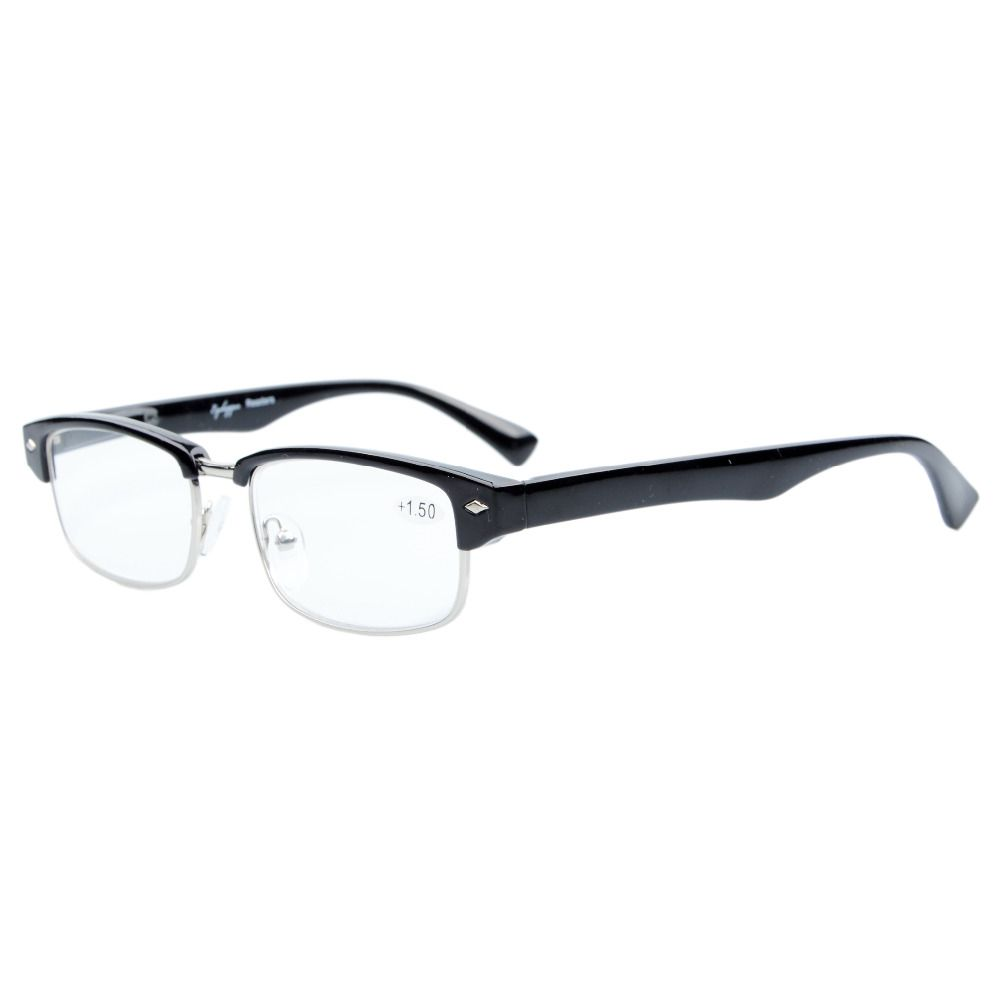 1ce99779f4d Click to Buy    R087 Eyekepper Readers Spring Hinge Classic Reading Glasses