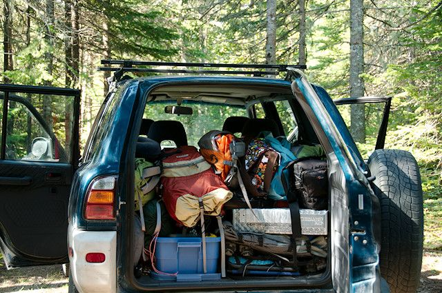 Principles Of Ultralight Backpacking Car Camping Gear For Five In The Back A Small