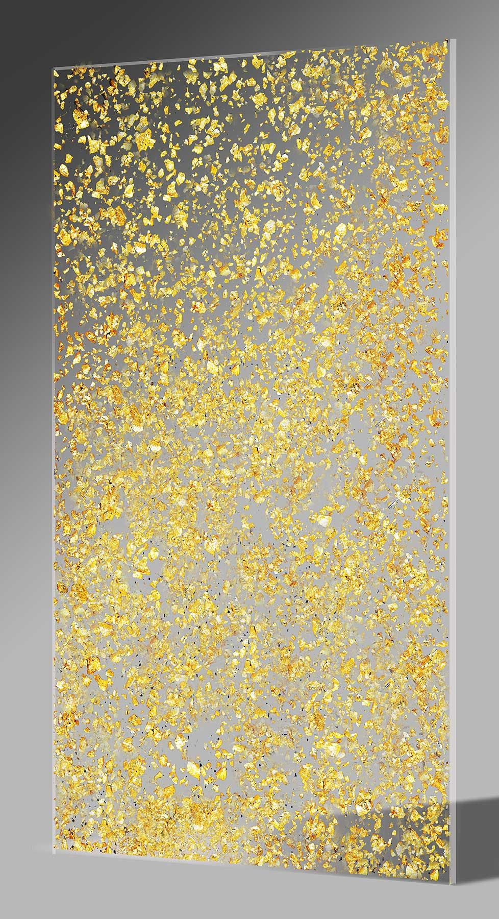 Gold Flakes In Acrylic Sheets Acrylic Sheets Resin Design Gold Flakes
