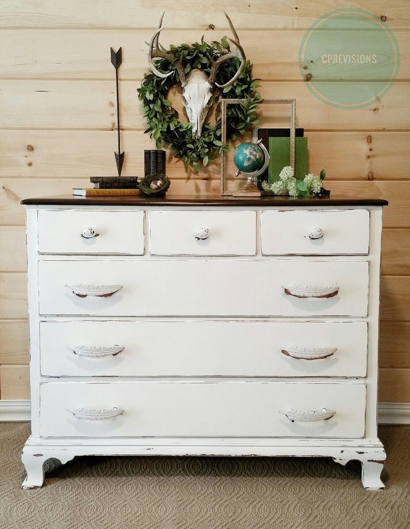 Best Sleek White And Java Home Decor Decor Furniture 400 x 300