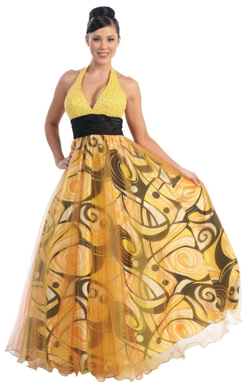 Fit for a wedding dress yellow themed wedding ideas pinterest