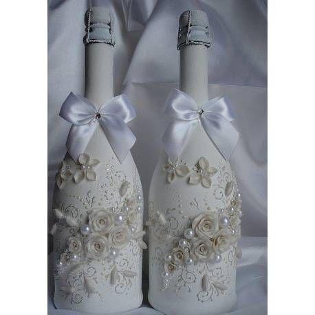 Svadobné fľaše Andela