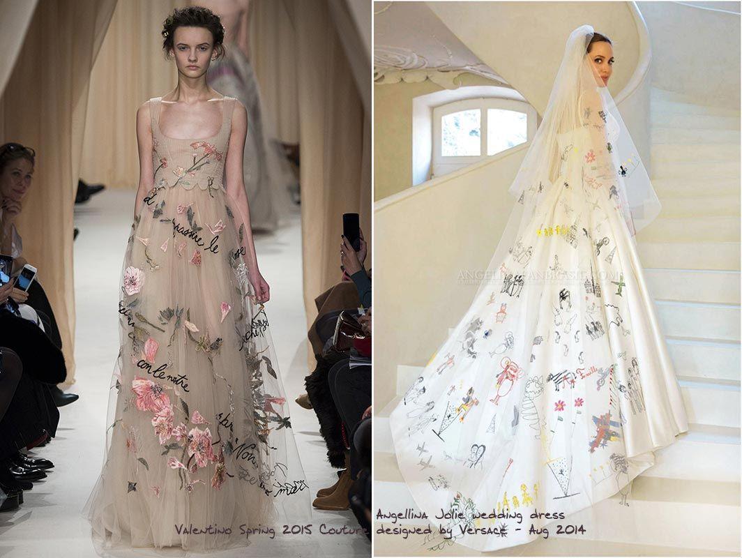 Angeline jolie wedding dress | Thiết kế | Pinterest