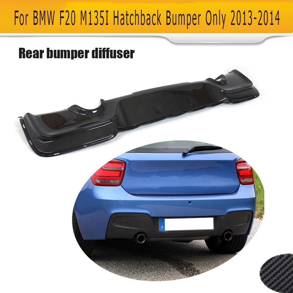 F20 Carbon Fiber Rear Bumper Lip Diffuser For Bmw 1 Series F20 M