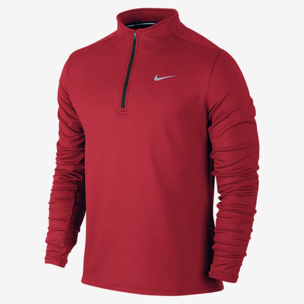 nike dri fit thermal half zip men 39 s running shirt sporty