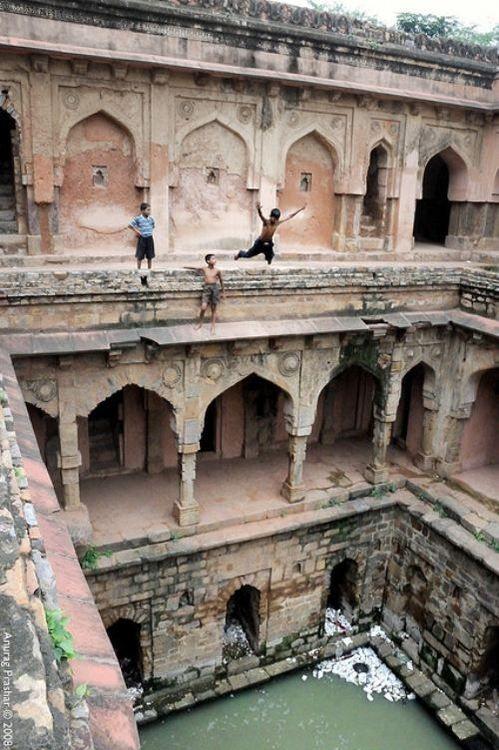Qutub Archeological Park in New Delhi, India.