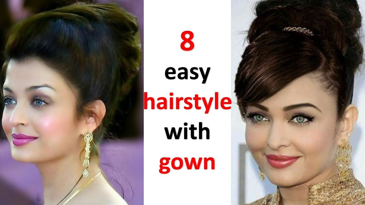 Cute Wedding Hair Styles Image For Short Hair If You Re Looking To Discover The Best Hairstyle For Hairstyles For Gowns Trending Hairstyles Easy Hairstyles