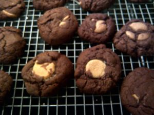 Mary Berry's chocolate cookies