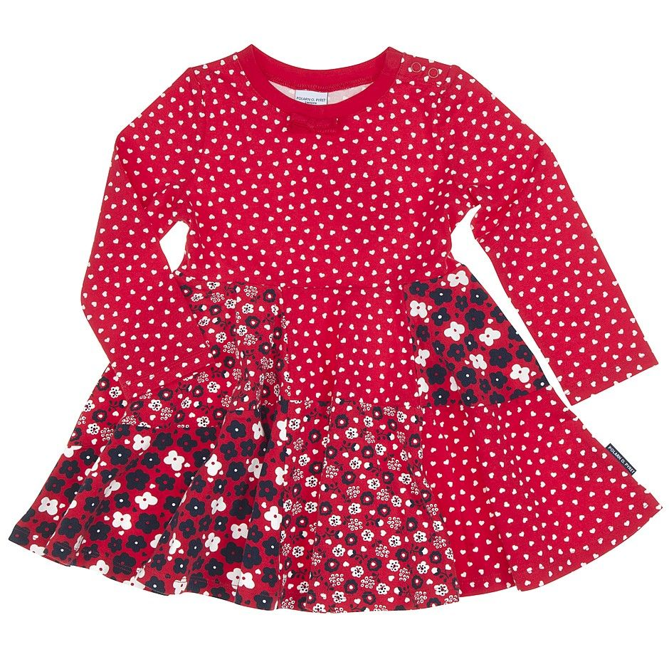 f59923013 Polarn O. Pyret Nordic Patchwork Kids Dress. Kids Christmas party ...