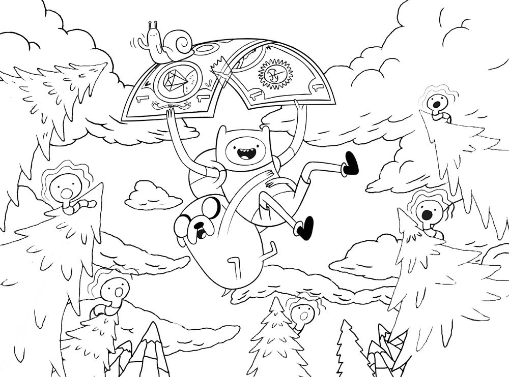 Adventure Time Coloring Pages Adventure Time Coloring Pages, Cartoon  Coloring Pages, Coloring Pages