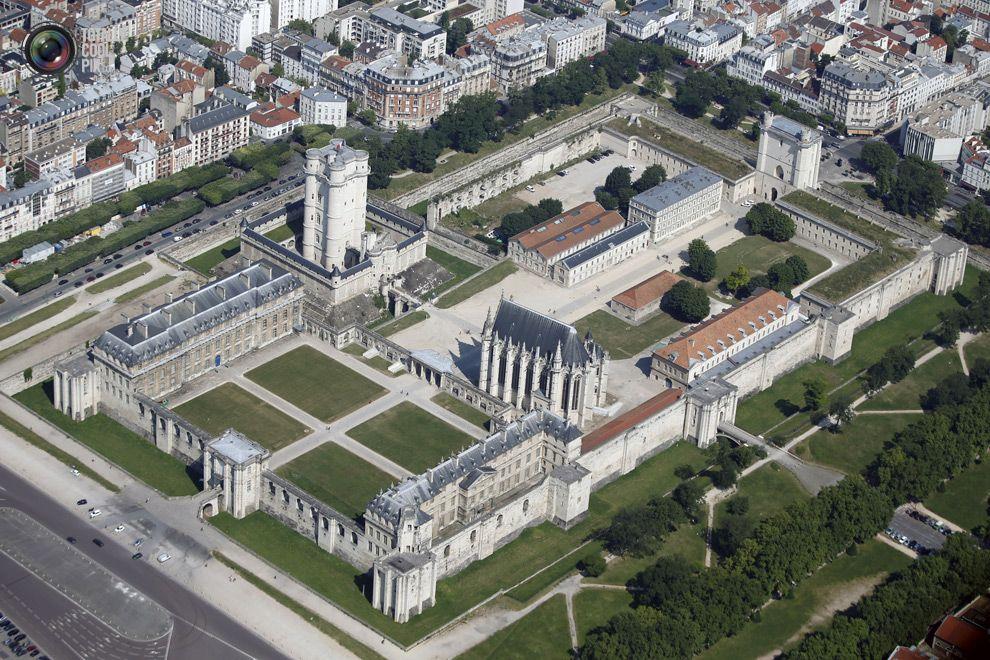 Château De Vincennes Areal View