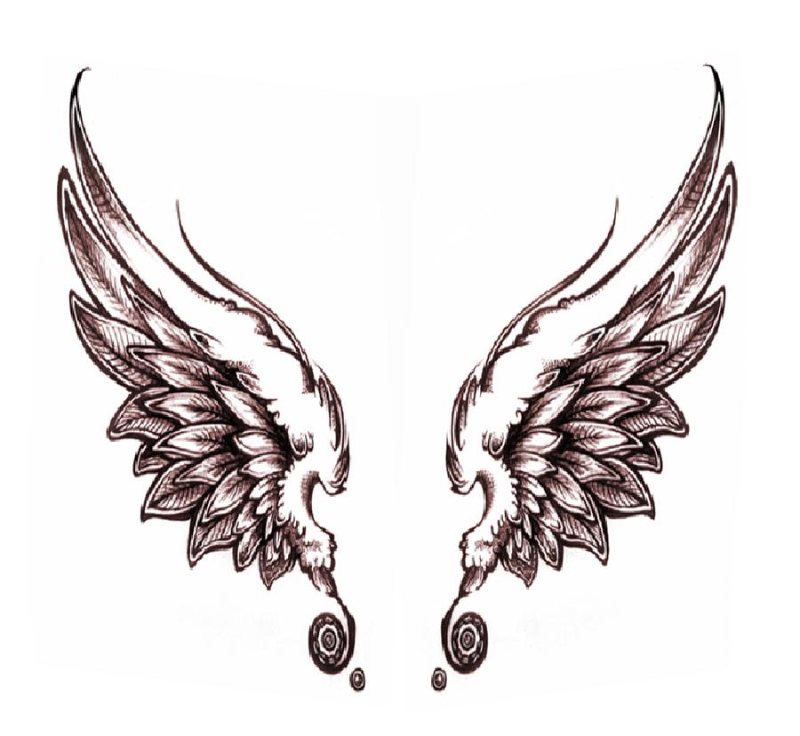 dark angel wings by on deviantart tattoos piercings. Black Bedroom Furniture Sets. Home Design Ideas