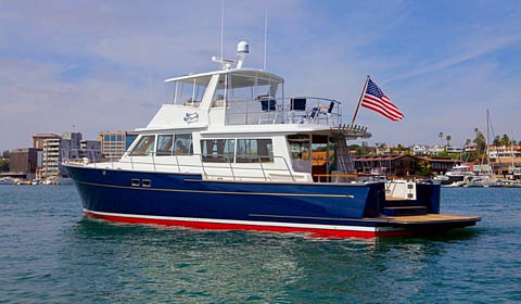 Doug Zurn designed Duffield 58 launched by Duffield Yachts
