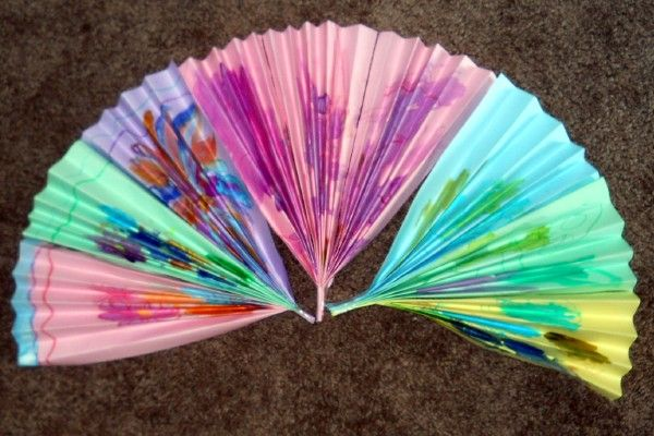 ideas for making crafts easy japanese fan craft for 4742