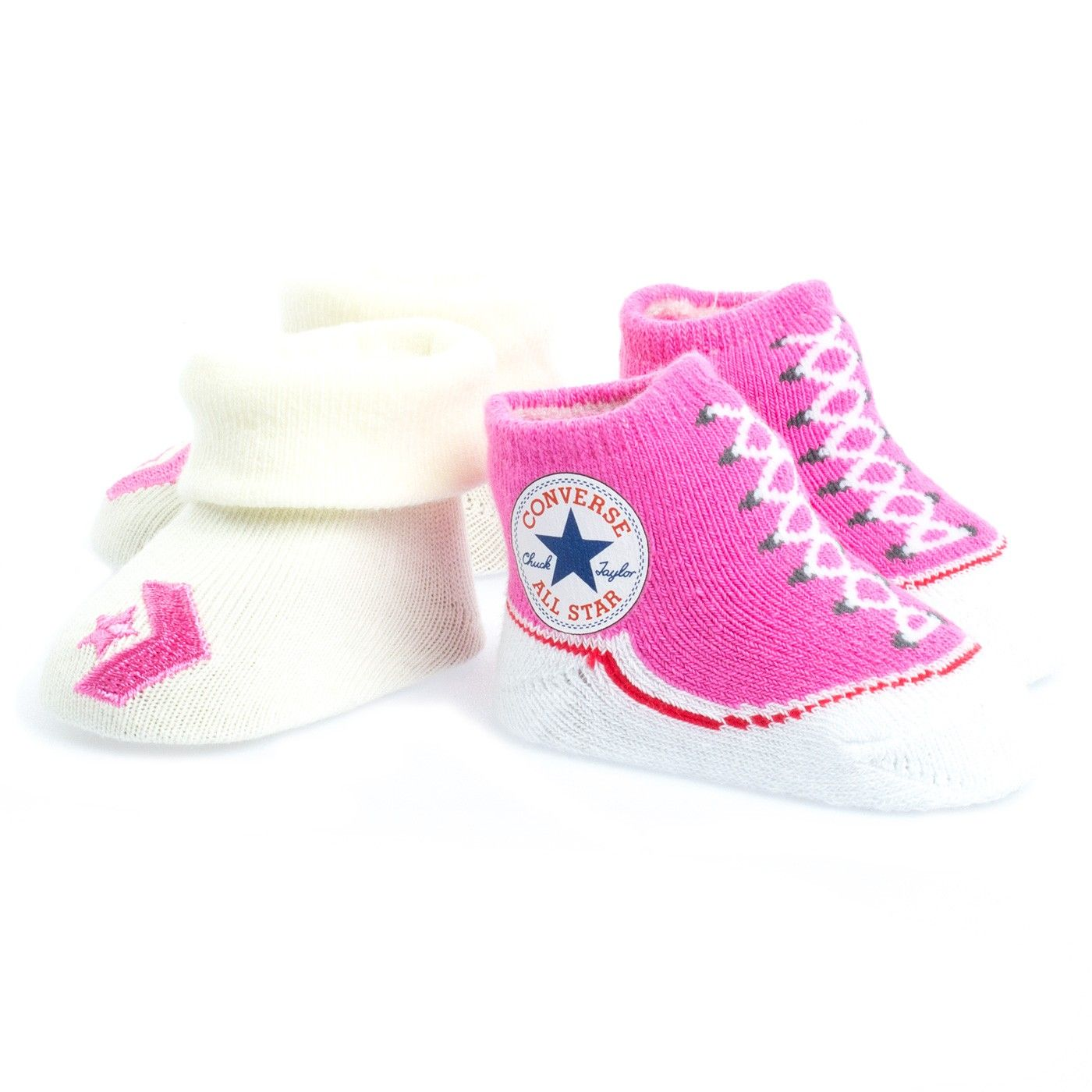 Converse Babygirls 2 Pair Logo Socks