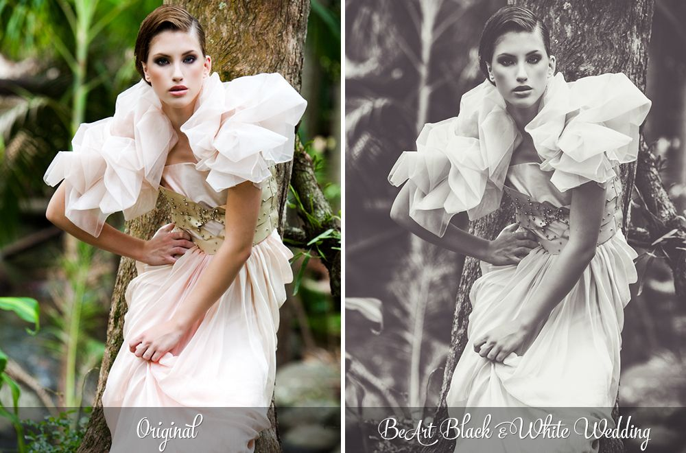 Black And White Wedding Lightroom Presets Photoshop Actions Camera RAW By BeArtPresets
