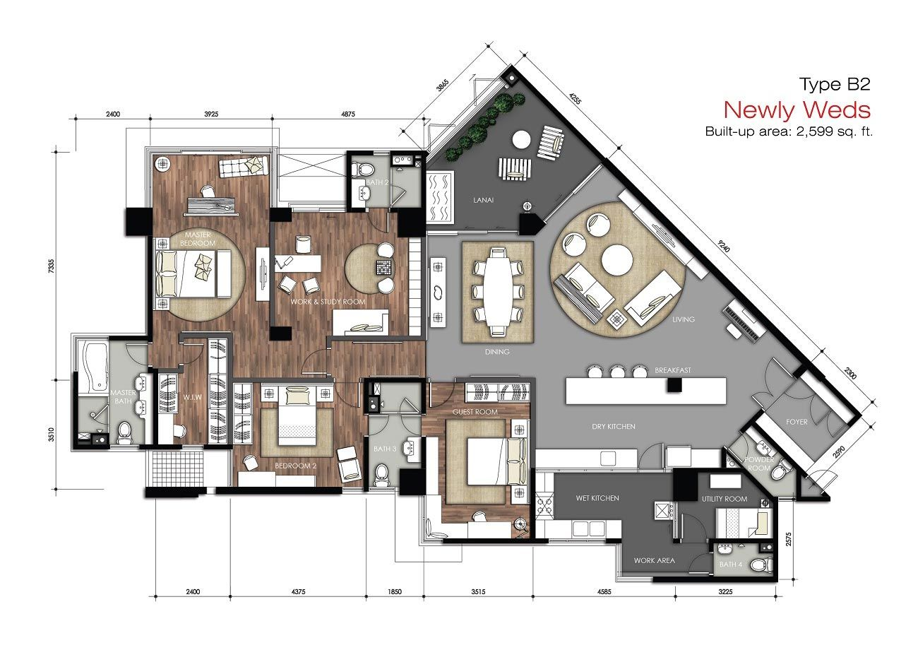 Bukit Utama Design Floor Plans Hotel Floor Plan Building Plans