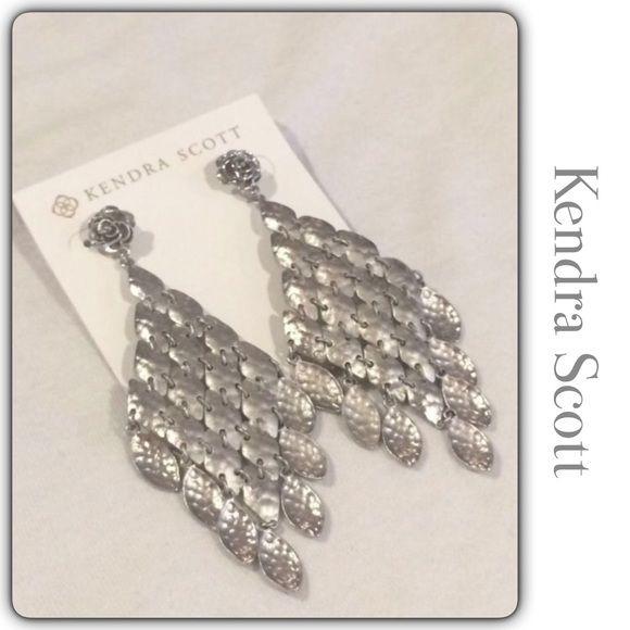 Kendra Scott Nera Chandelier Earrings Brand new Beautiful ...