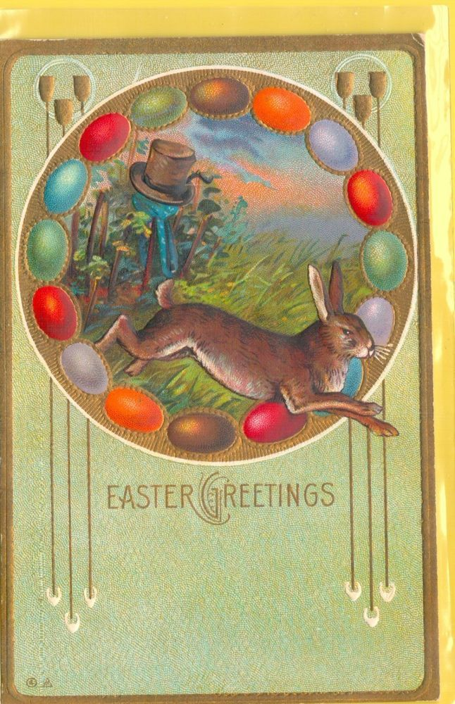 Easter Greetings,  Easter Post Card #Easter
