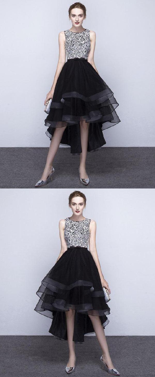 Cute prom dresses black prom dresses sequin prom dresses