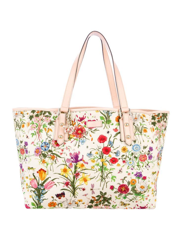 Gucci Flora Tote Wearable Art Handbags Shoulder Bags Clutches