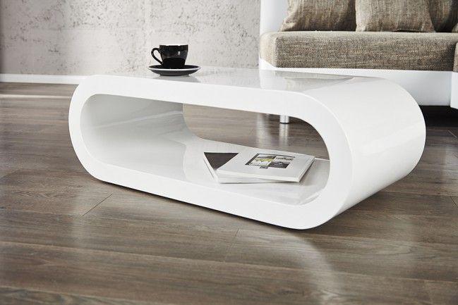 Design Couchtisch BOWL Hochglanz weiß 90cm | Möbel | Pinterest ...