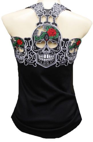 f402fb09949527 ROCKABILLY-PUNK-ROCK-BABY-Tattoo-Gothic-Emo-Sexy-TANK-TOP-SHIRT-XS-S-M-L-XL- XXL