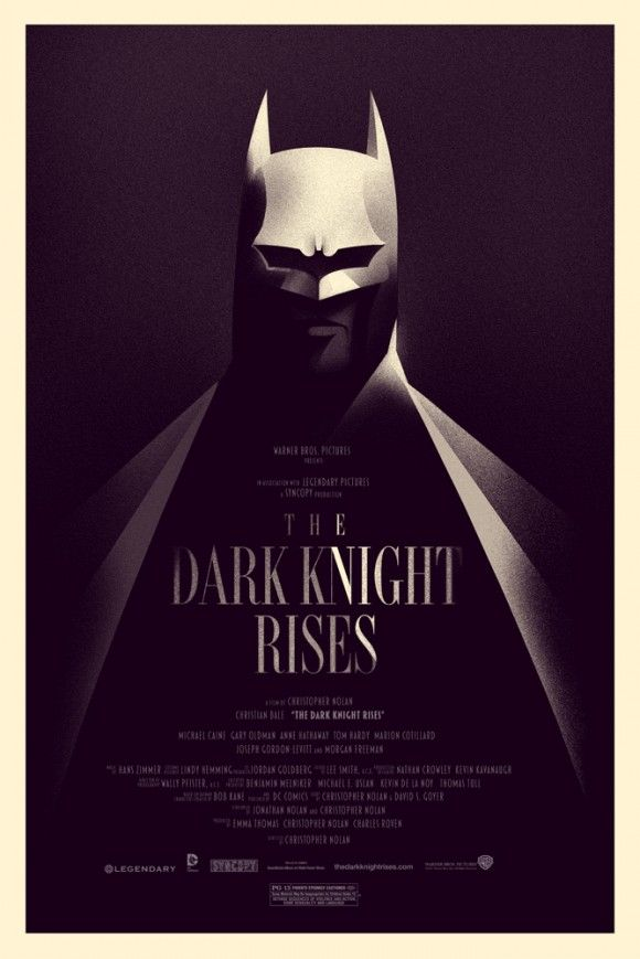 Poster Especial De Batman O Cavaleiro Das Trevas Ressurge By