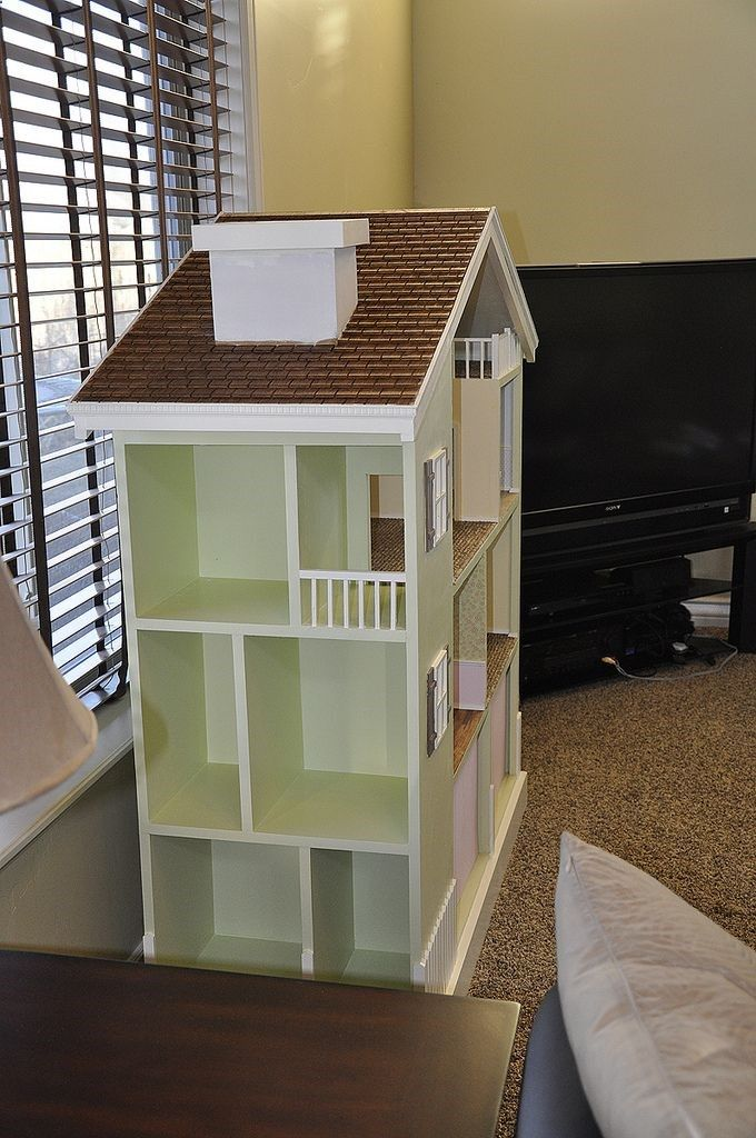 Do It Yourself House Plans: My Bookshelf Dollhouse Do It Yourself Home Projects From