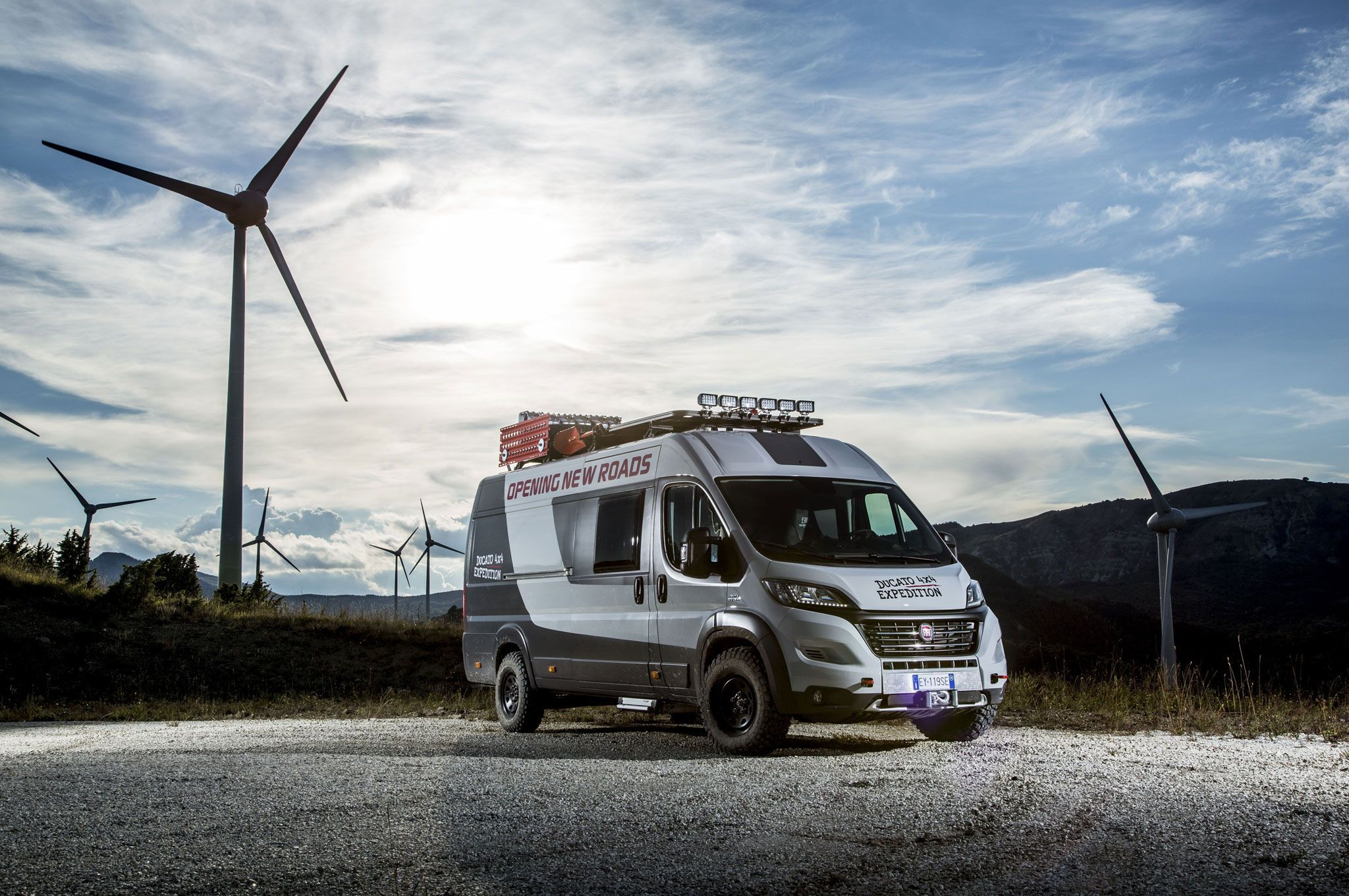 Fiat Ducato 4x4 Expedition Camper Show Van Appears At UK Trade