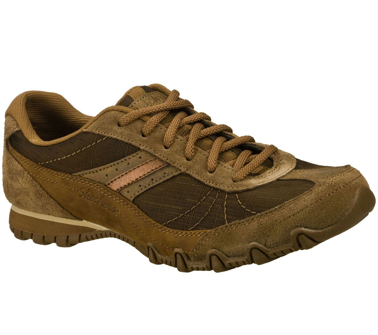 Sketchers Desert Brown Women's Relaxed Fit: Bikers Abroad