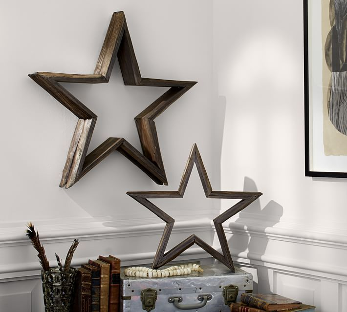 Angles Of A Wooden Star