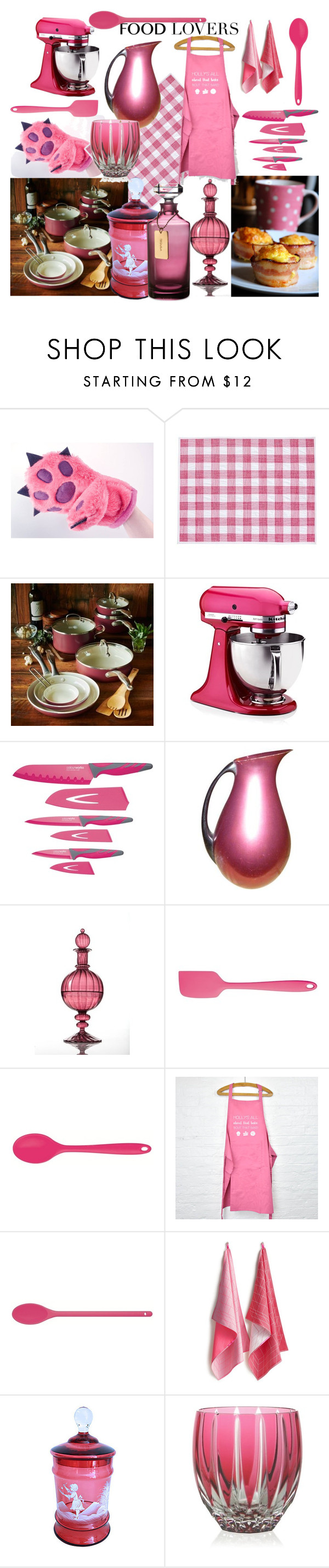 """""""Untitled #104"""" by crisvalx-cv ❤ liked on Polyvore featuring interior, interiors, interior design, home, home decor, interior decorating, GreenPan, KitchenAid, Kitchen Craft Colourworks and HAY"""