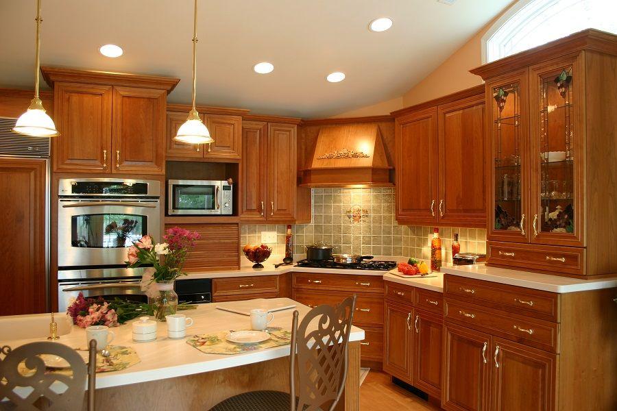 Traditional Kitchen Remodel Nashua NH 002 | Traditional ...