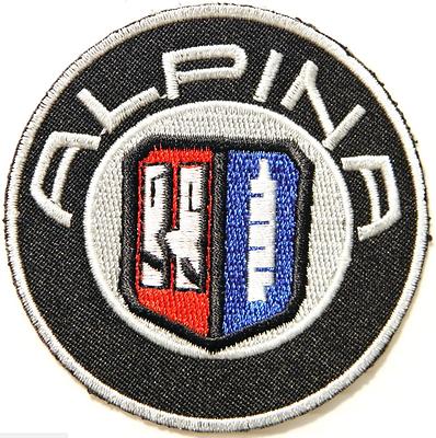 New Bmw Alpina Sport Car Racing Patch Sew Iron On Jacket T Shirt Suit Logo Badge