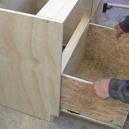 and sliders hardware rockler suspension woodworking slide pair drawers drawer