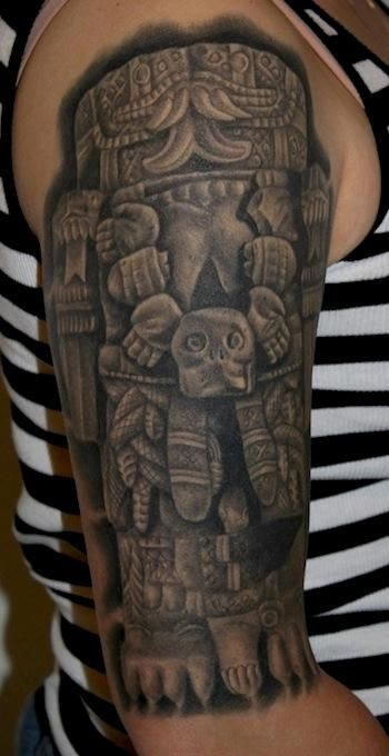 Coatlicue Aztec Goddess of the Earth | Body Art ...