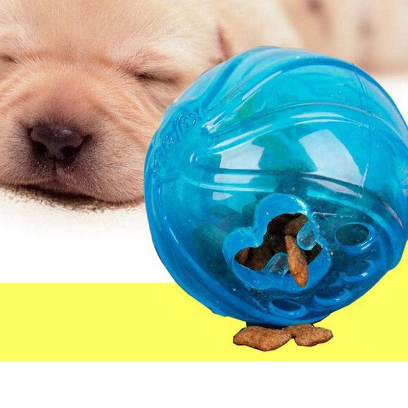 No Toxic Fun Food Dispenser Treat Chew Ball Rubber Pet Products