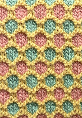 NaturallyCaron.com :: Spice Island Baby Blanket