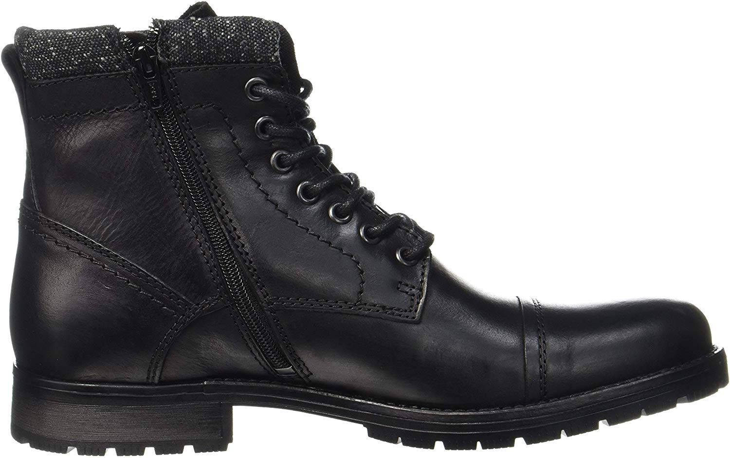 Jackamp; BootsBlack6 Jones Men's Jfwmarly Classic Leather mN8O0vnw
