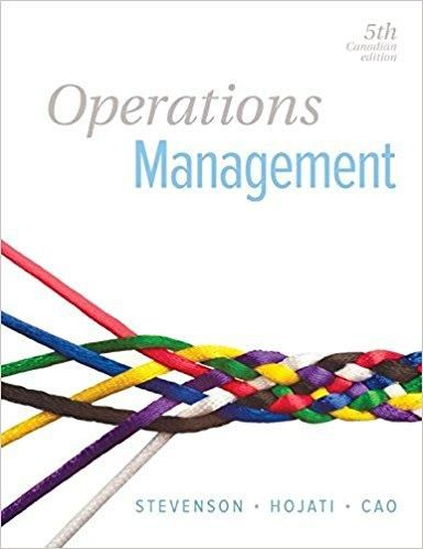 Operations management 5th canadian edition by william j stevenson operations management 5th canadian edition by william j stevenson isbn 13 978 1259258480 fandeluxe Images